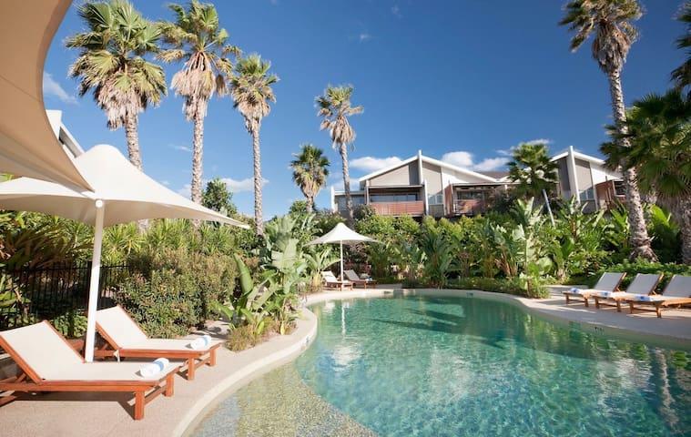 Premium Poolside Villa- 3 Bedroom Beach Escape
