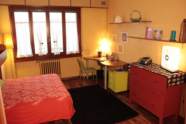 Confortable double room in a walnut house! - Florence - Maison