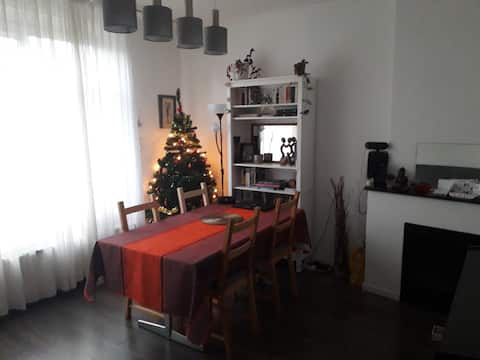 2 persons apartment at 20 min from the city center