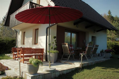 Sunny weekend house, near Ljubljana