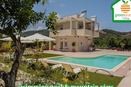 Luxurious Villa-Organic Farm-Birds - Koufos
