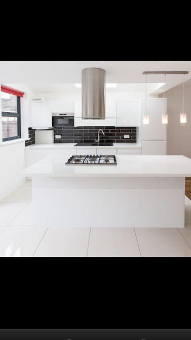 Kitchen island for some cosy night in
