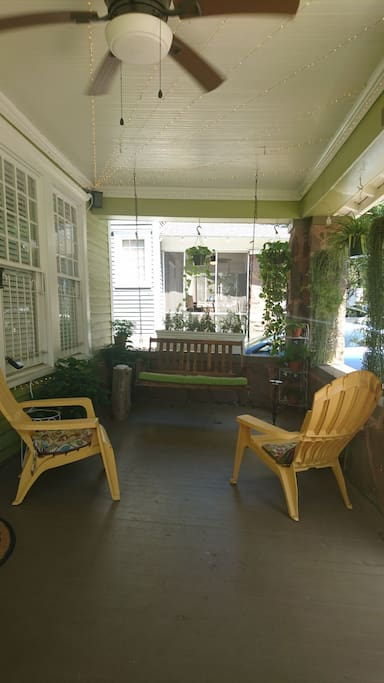 Hang out on the porch!