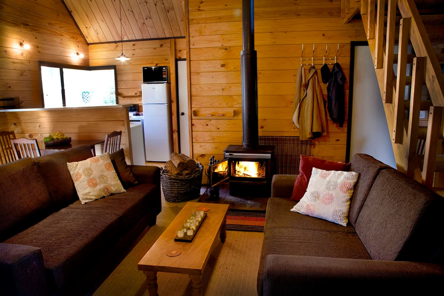 Cozy and comfortable lounge
