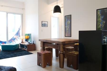 Sea front, front native forest - Florianopolis - Apartament