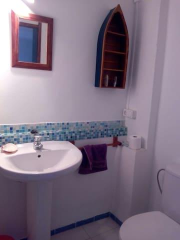 Habitación 2 camas con ducha. - Oliva - House