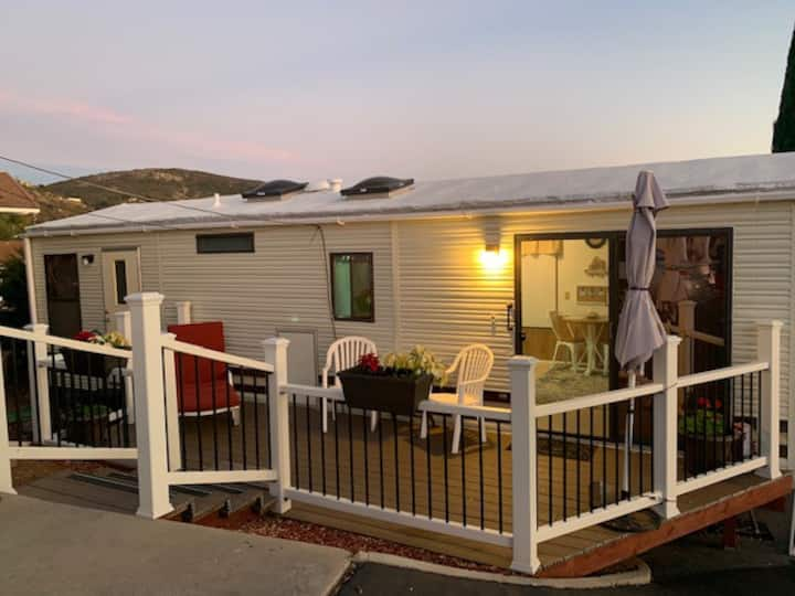 Private guesthouse with gorgeous sunsets daily!