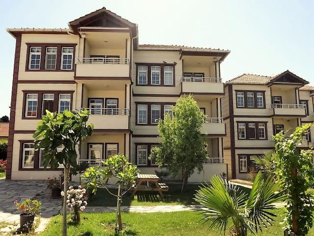 La foyer dans la nature  Hamsilos Tatil Köyü