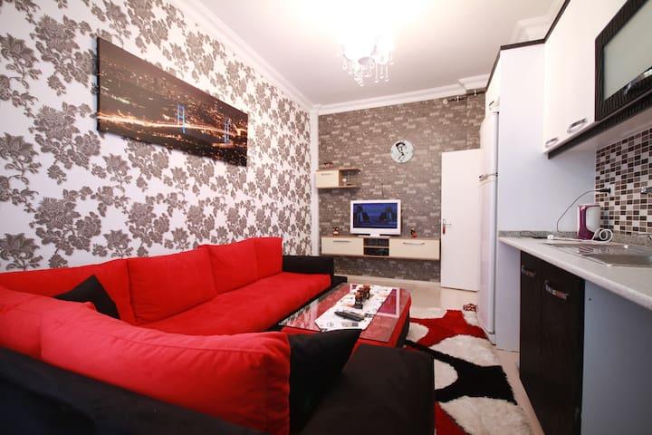 1+1 FAMILY APARTMENT IN ISTANBUL BEŞİKTAS BAAZAAR - Бешикташ - Квартира