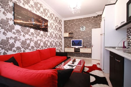 1+1 FAMILY APARTMENT IN ISTANBUL BEŞİKTAS BAAZAAR - Beşiktaş - Daire