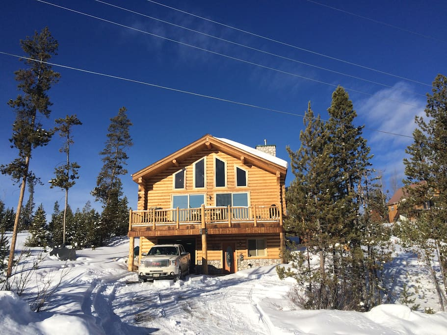 The moose cabin houses for rent in grand lake colorado for Grand lake colorado cabin rentals