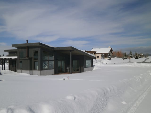 Modern Mountain Retreat - Alta - Casa