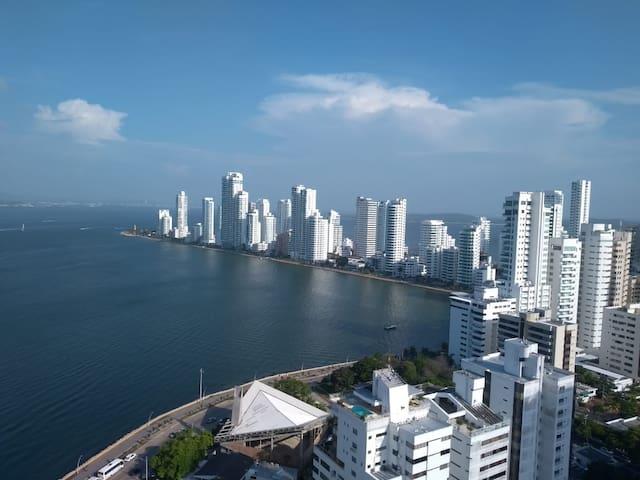 Todos los momentos son Buenos en Cartagena la fantastica !