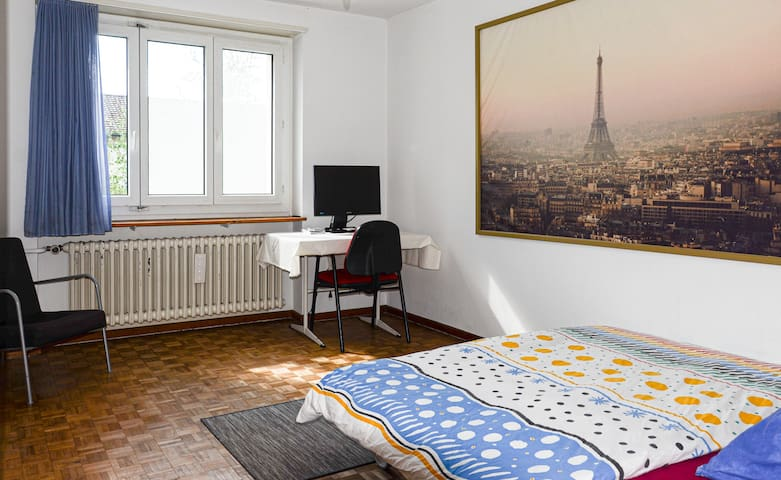 From NYC to Zurich: Cozy room 10 min from HB