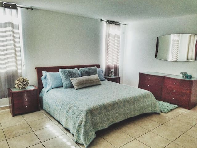 A/C & Electricity in this gorgeous 1 bedroom suite