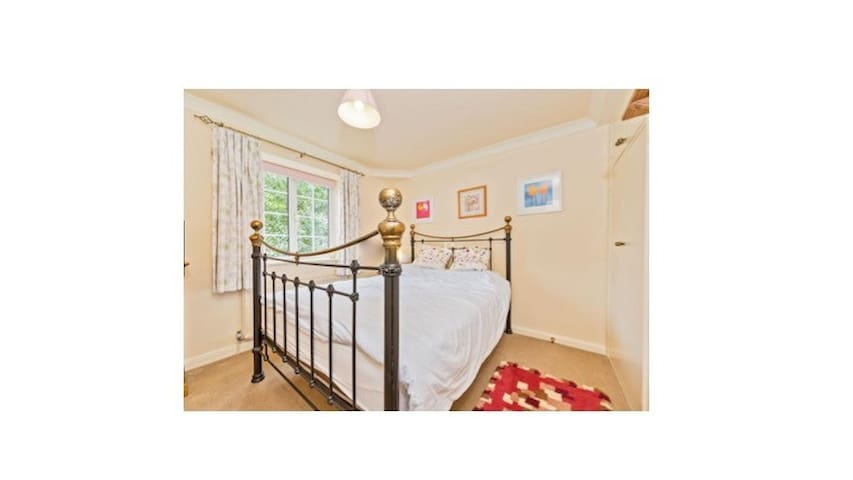 Double bedroom in a unique converted stables