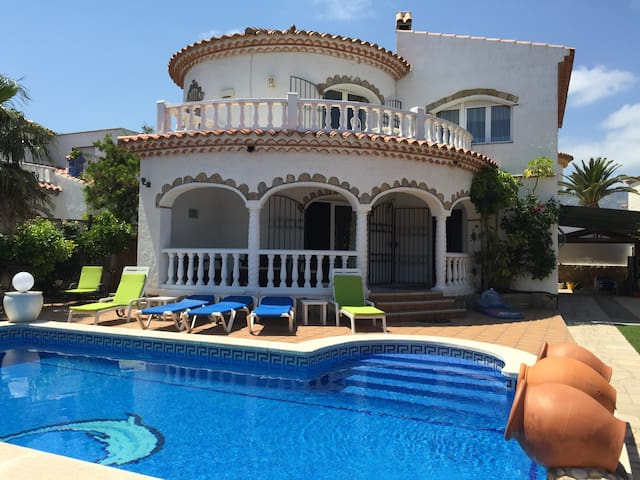 Large villa with own pool & hot tub in Miami Playa - Costa del Zefir - Villa