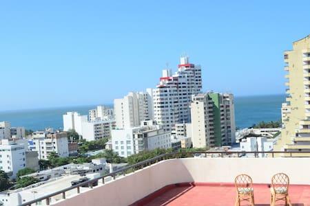 penth house en Rodadero - 圣玛尔塔 - 公寓
