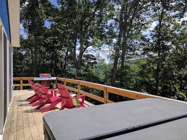 Great views for relaxing and grilling out.