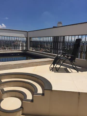 Cobertura dúplex com piscina privê - Goiânia - Pis