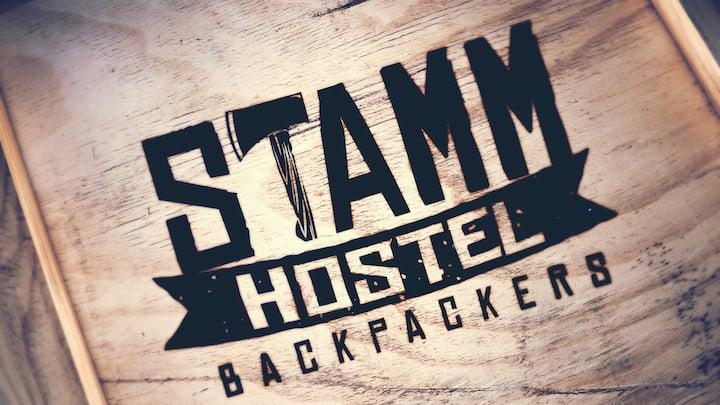 Stamm Hostel - Quarto Compartilhado com WC e AC