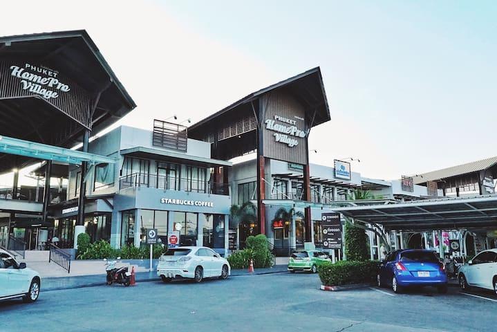 查龙湾一卧室顶楼海景泳池公寓 - Wichit
