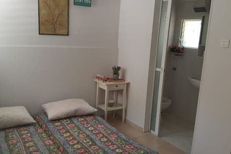 Nice small unit with a balcony in a countryside