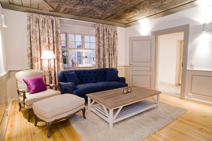 Comfortable Apartment with Historic Vibe