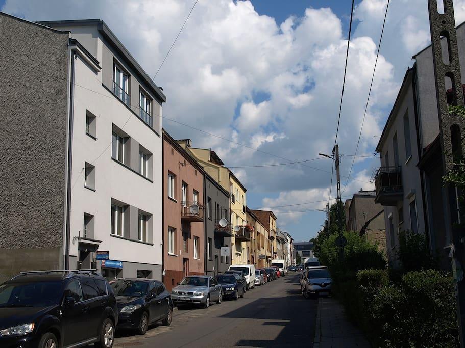 widok z ulicy
