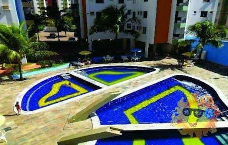 Apartamento em Caldas Novas - Goiás - Caldas Novas
