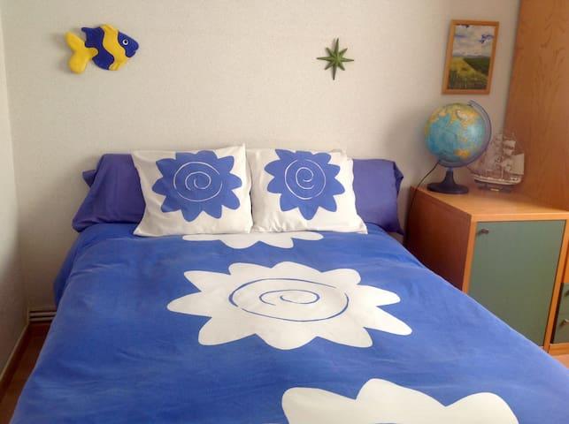 Habitación privada tranquila, cómoda y acogedora.