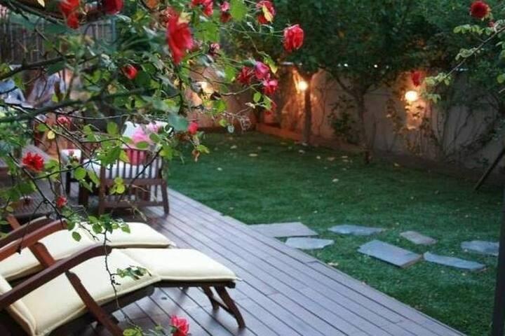 apartamento con encanto y bonita terraza