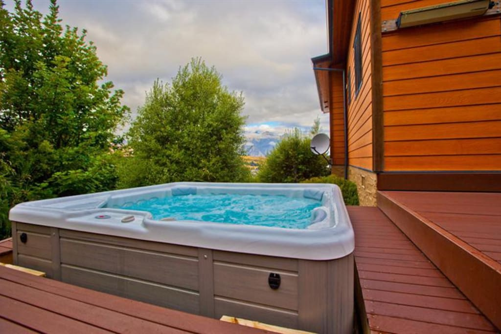 Out door hot tub/spa pool