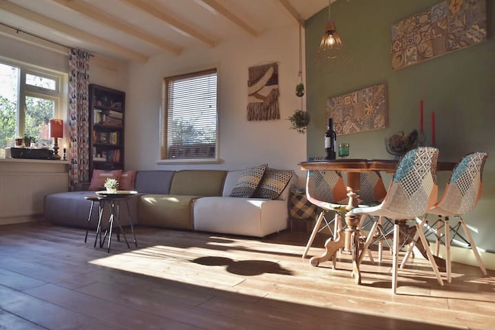 Cozy house at the cityheart! Only 35 min Amsterdam