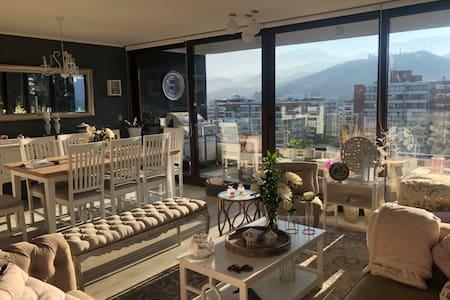 New Santiago apartment wonderful views 13th floor