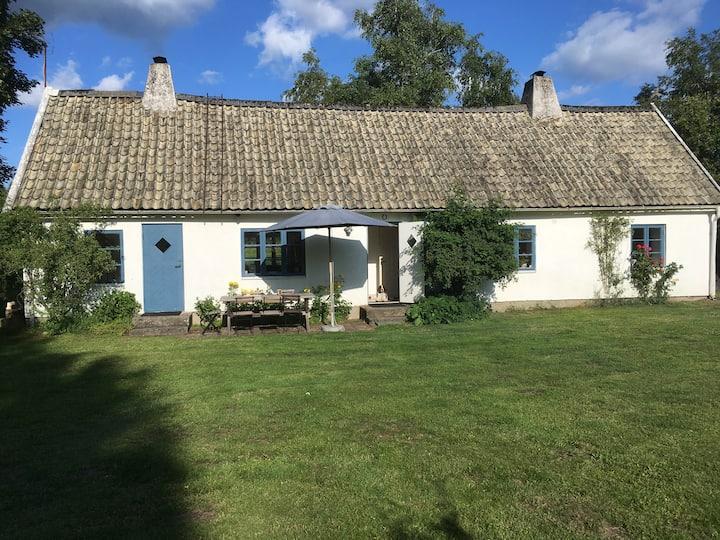 Idyllic house on the countryside of Österlen