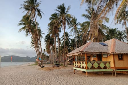 White sand beach and perfect Place for relaxation