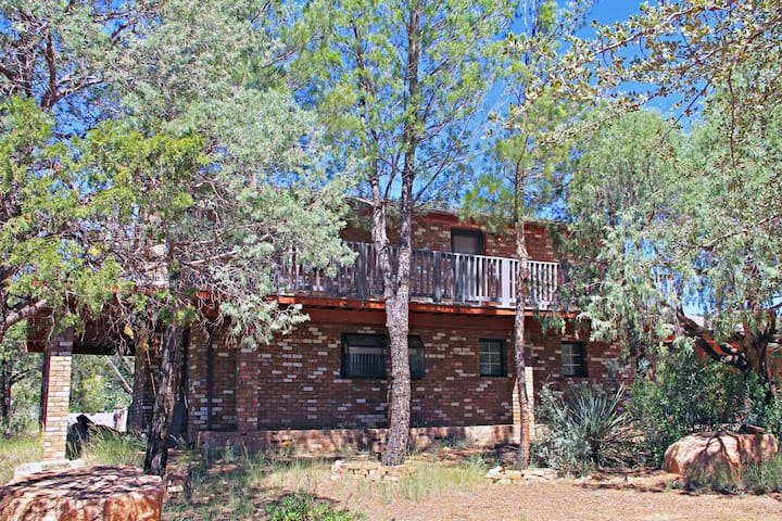 Trails End Loft House on the East Verde River - Payson - House