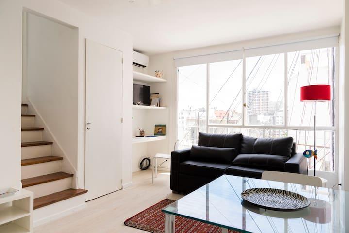 Nice Duplex in Recoleta Area with Spacious Balcony