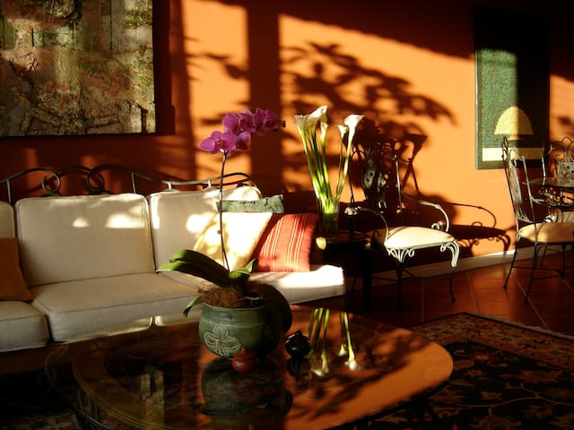 Charming B&B in Best Neighborhood: Barva Room - San José - Bed & Breakfast