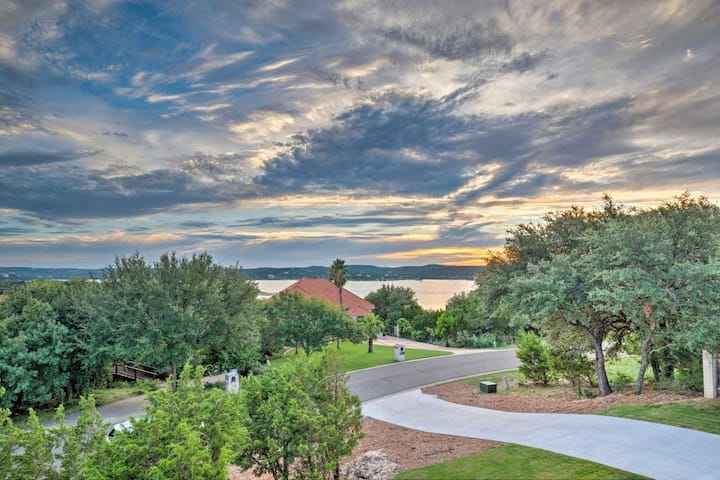 Lake Travis Home with Views & Boat Launch Access!