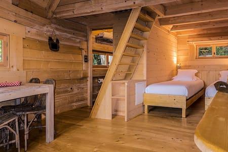Une cabane dans les bois, à 10 km de Carcassonne - Villalier - Cabana