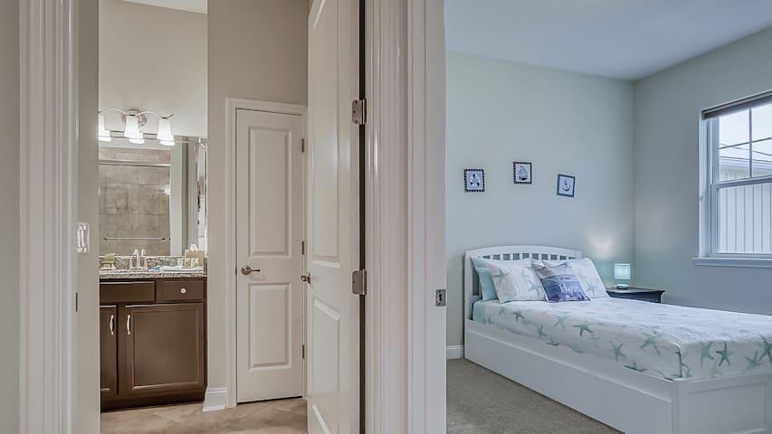 Kids Bedroom and Bathroom