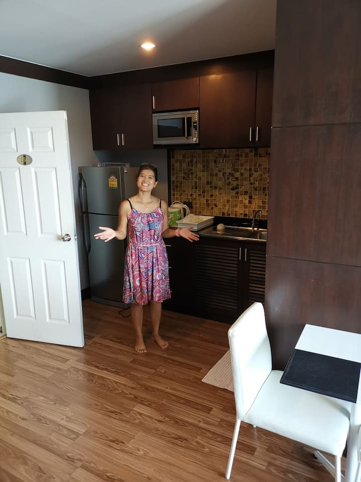 Hey! It's me - Alice! Welcome to your apartment here in Phuket!