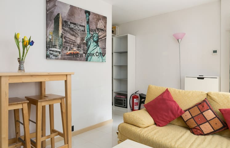 Cosy 40sqm apartment in a peaceful neighborhood