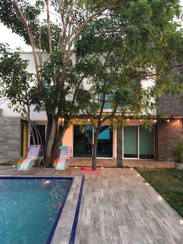 Hermosa Casa en Playa Mendoza Vía al Mar B/quilla