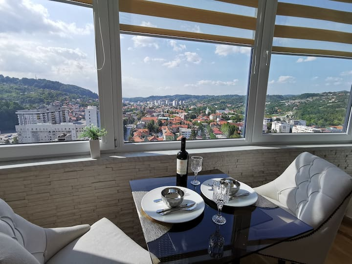 Luxury Mellain Apartment with a stunning view