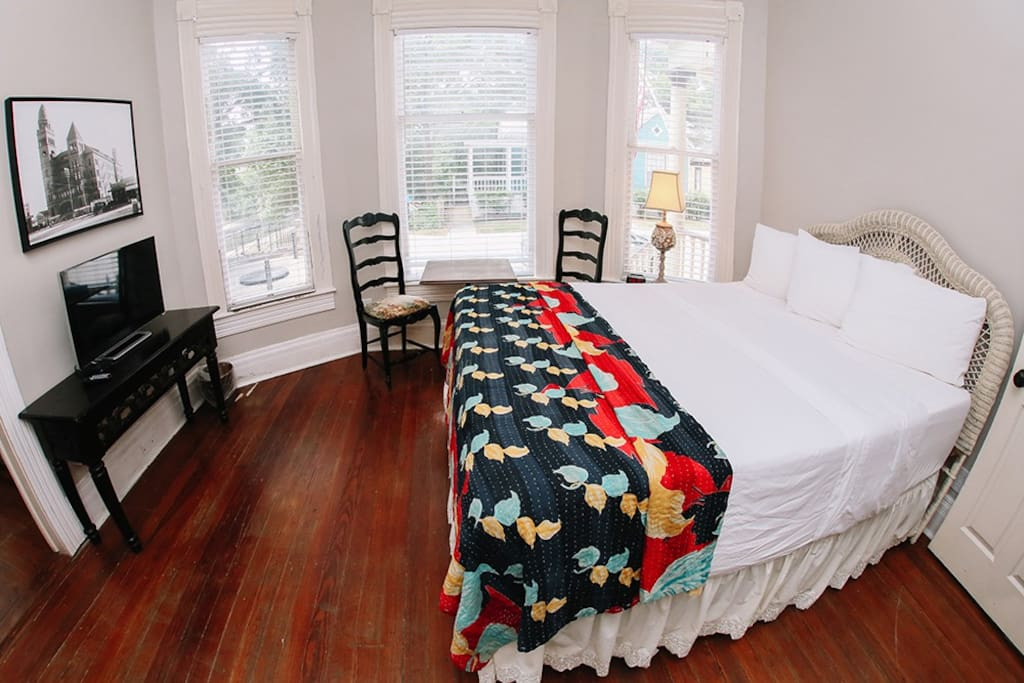 Riverwalk Suite is located on the first floor inside our Main House