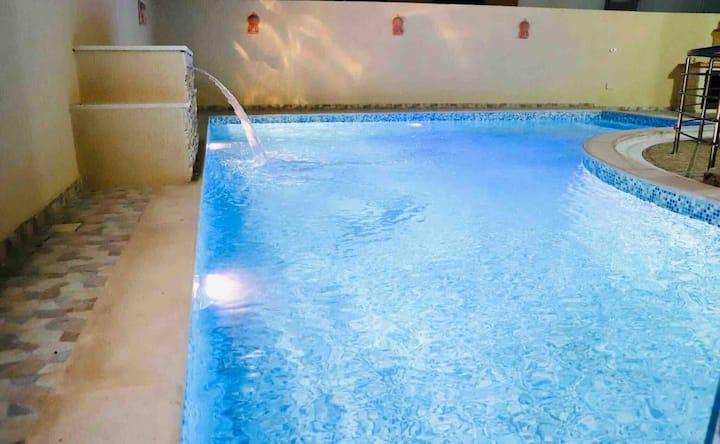 superbe villa entière avec piscine vue sur mer