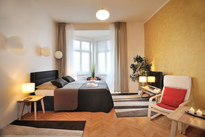 Luxury apartment in Ostrava city Centr name Family